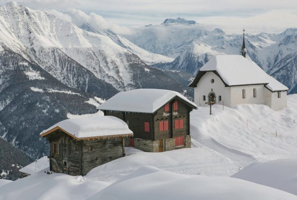 Swiss property in Alps